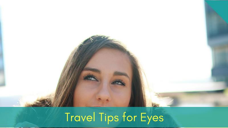 Blog - traveling + eye tips