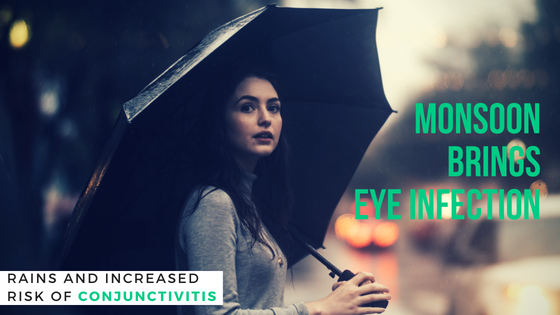 Rains and increased risk of conjunctivitis